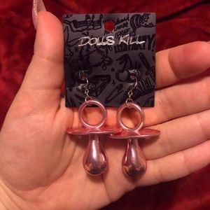 """Dolls Kill """"Binky BB"""" Earrings"""